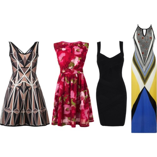 Hourglass Dresses